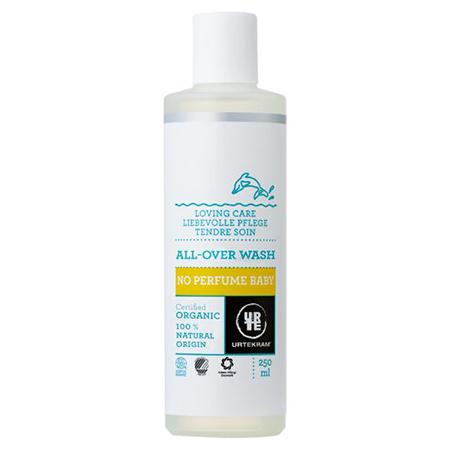 Детский шампунь-гель для мытья волос и тела, без аромата urtekram (Urtekram)