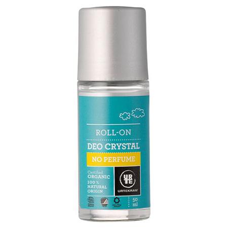 Шариковый дезодорант-кристалл без аромата urtekram