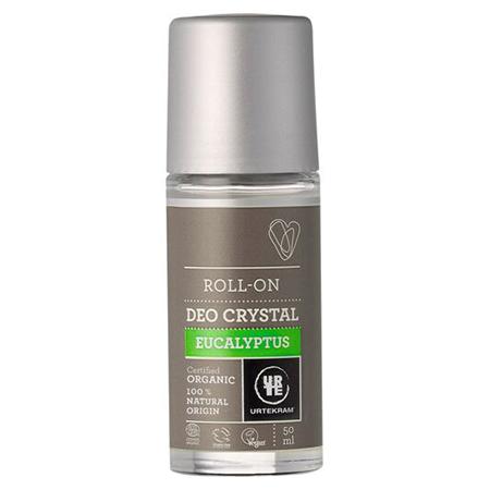 Шариковый дезодорант-кристалл эвкалипт urtekram (Urtekram)