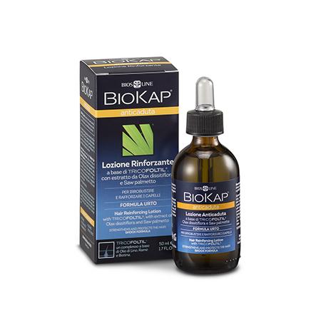 Лосьон для укрепления и защиты волос от потери biokap