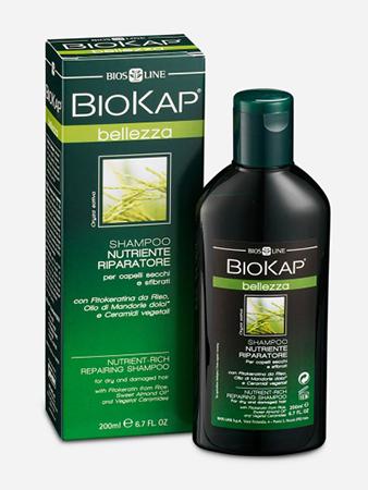 Шампунь питательный, восстанавливающий biokap