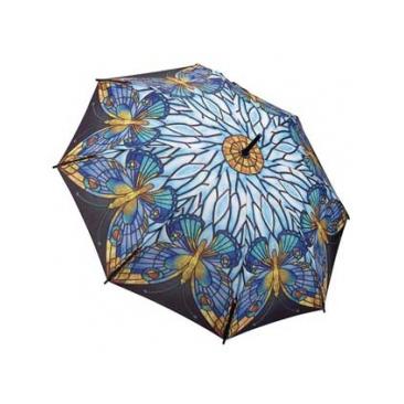 Зонт-трость бабочки galleria