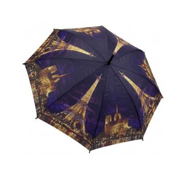 Зонт-трость огни парижа galleria