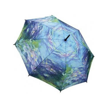 Зонт-трость по картине моне кувшинки galleria