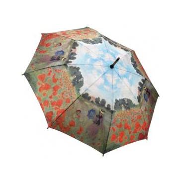 Зонт-трость по картине моне поле маков galleria
