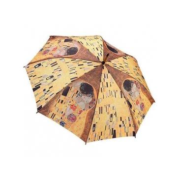 Зонт-трость по картине густава климта the kiss galleria