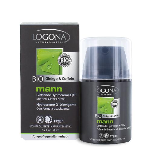 Увлажняющий крем с q10 man logona (Logona)