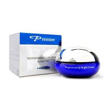 Регенерирующий ночной крем для всех типов кожи premier (Premier by Dead Sea)