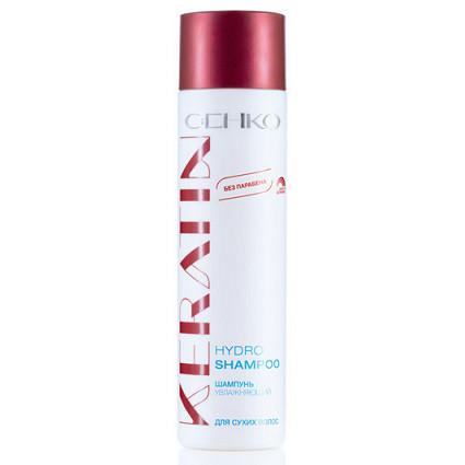 Шампунь увлажняющий для сухих волос keratin c:ehko