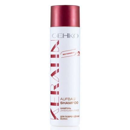 Шампунь интенсивный уход для повреждённых волос keratin c:ehko (C:EHKO)