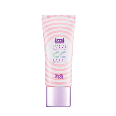 Cc-крем crystal clear peach glow touch in sol (Touch in SOL)