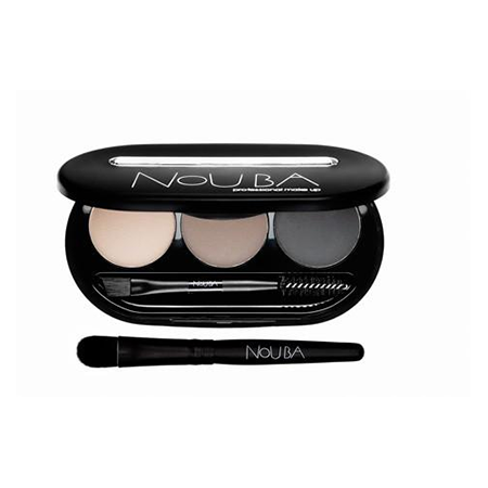 Набор теней для бровей eyebrow powder kit (тон 01) nouba (Nouba)