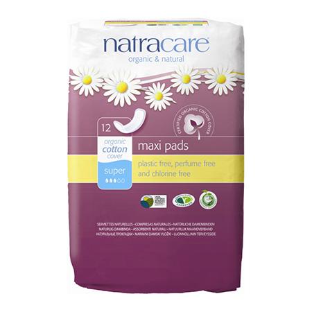 Натуральные женские прокладки natural pads super natracare