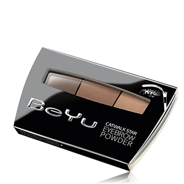Тени для бровей catwalk star eyebrow powder be yu