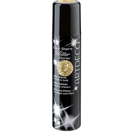 Спрей для волос и тела с блёстками glam stars glitter spray (золото) artdeco (ARTDECO)