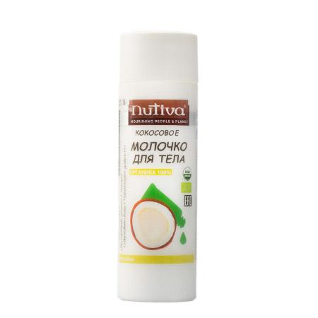 Кокосовое молочко для тела organic nutiva (Nutiva)