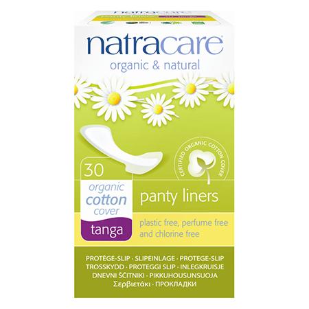 Натуральные женские прокладки panty liners tanga natracare