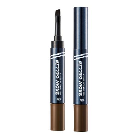 Гель для бровей №2 rachel brow gellin gel eyebrow styler touch in sol (Touch in SOL)