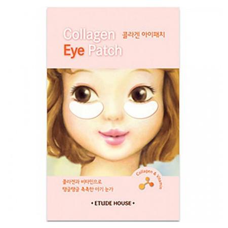 Патчи для глаз с коллагеном collagen eye patch etude house (Etude House)