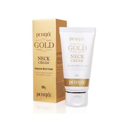 Крем для шеи антивозрастной с золотом petitfee (PETITFEE)