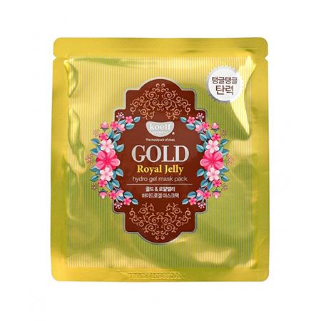 Гидрогелевая маска золото и пчелиное маточное молочко koelf (Koelf)