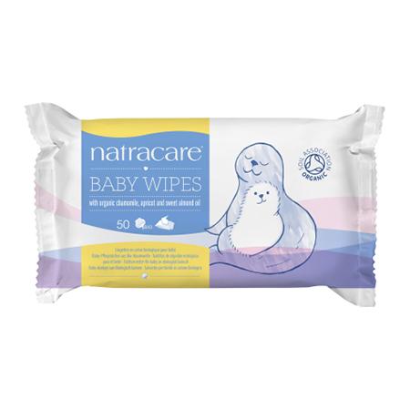 Влажные салфетки для новорожденных natracare