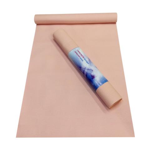 Коврик для йоги сарасвати экстра (200 см) розовый yoga (Yoga)