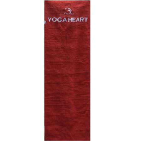 Коврик yoga heart для йоги из хлопка + чехол yoga (Yoga)