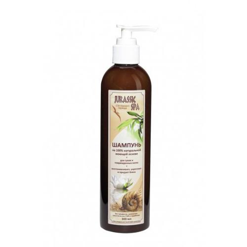 Натуральный шампунь для сухих и поврежденных волос jurassic spa (Jurassic SPA)
