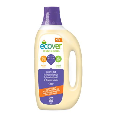 Экологическая жидкость для стирки color ecover