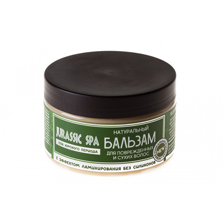 Бальзам для сухих и поврежденых волос jurassic spa