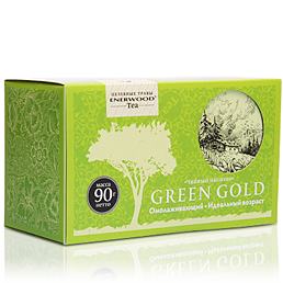 Омолаживающий чайный напиток green gold (Energy Diet)