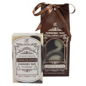 Мыло ухаживающее шоколадное клеона