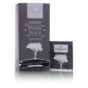 Цейлонский черный чай с кипреем и грибом рейши every black mini (Energy Diet)
