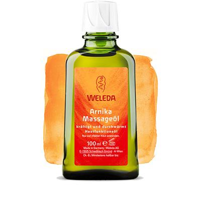Массажное масло с арникой 200 мл weleda (Weleda)