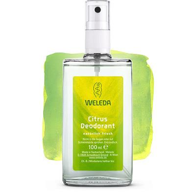 Цитрусовый дезодорант 100 мл weleda (Weleda)