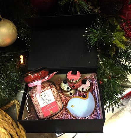 Подарочный набор медовое наслаждение с клубничным сахаром peroni (Peroni honey)