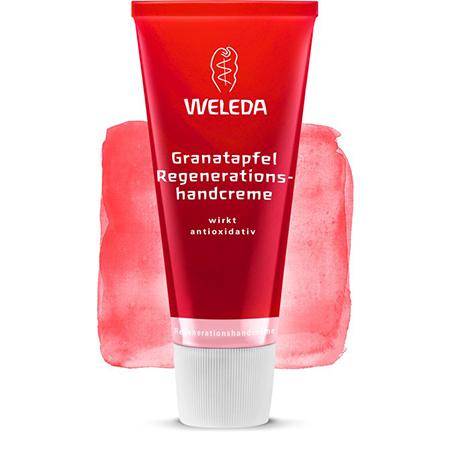 Гранатовый восстанавливающий крем для рук weleda (Weleda)