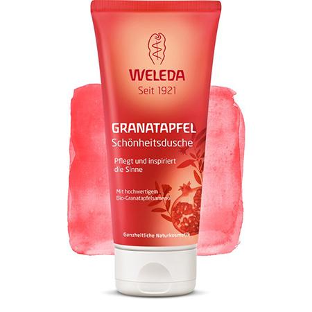 Гранатовый восстанавливающий гель для душа weleda (Weleda)