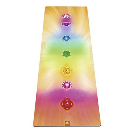 Коврик для йоги из натурального каучука чакры yoga (Yoga)