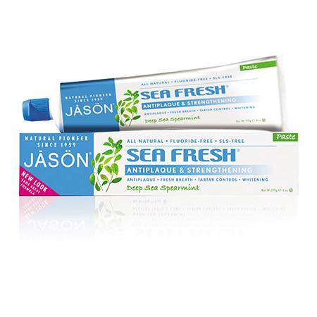 Зубная паста от зубного камня морская свежесть jason (Jason)