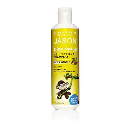 Детский натуральный шампунь экстра нежный jason (Jason)