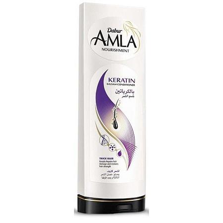 Бальзам для сухих и ослабленных волос amla keratin dabur