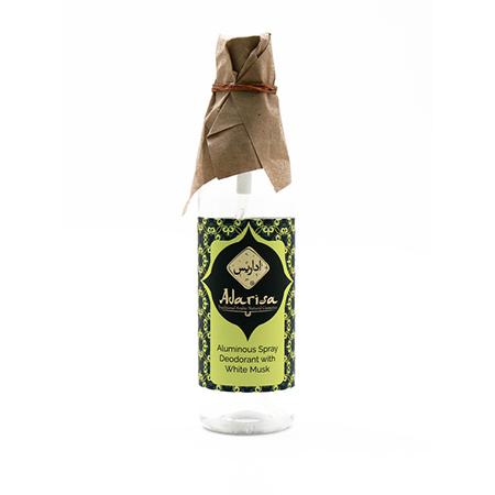 Квасцовый дезодорант-спрей с белым мускусом adarisa