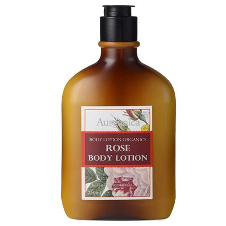 Лосьон для тела роза 250 мл ausganica