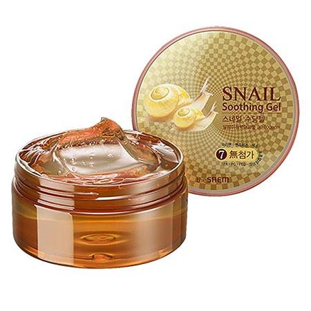 The Saem Гель с улиточным экстрактом snail soothing gel