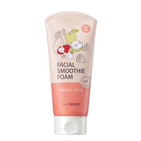 Пенка для умывания для лица фруктовая fruit facial smoothie foam the saem (The Saem)