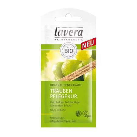 Биомаска для волос укрепляющая виноград (саше) lavera