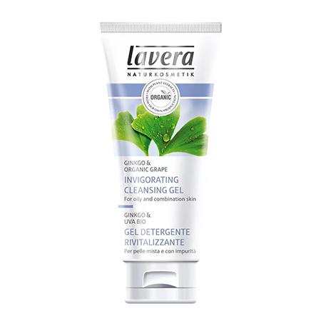 Очищающий био-скраб для лица lavera