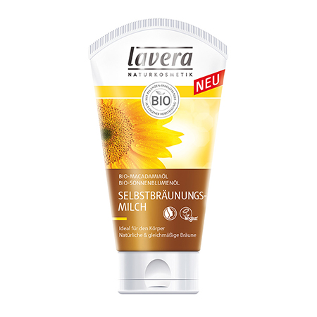 Био-автобронзат для лица и тела lavera (Lavera)